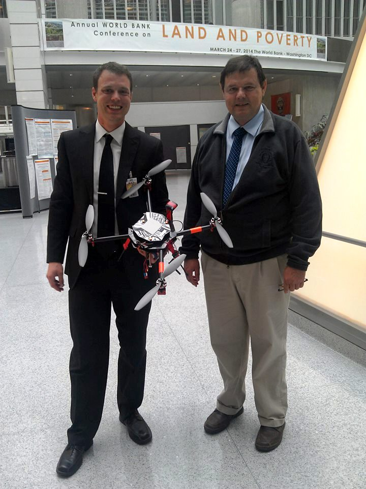 Oliver Volkmann and Walter Volkmann of Micro Aerial Projects