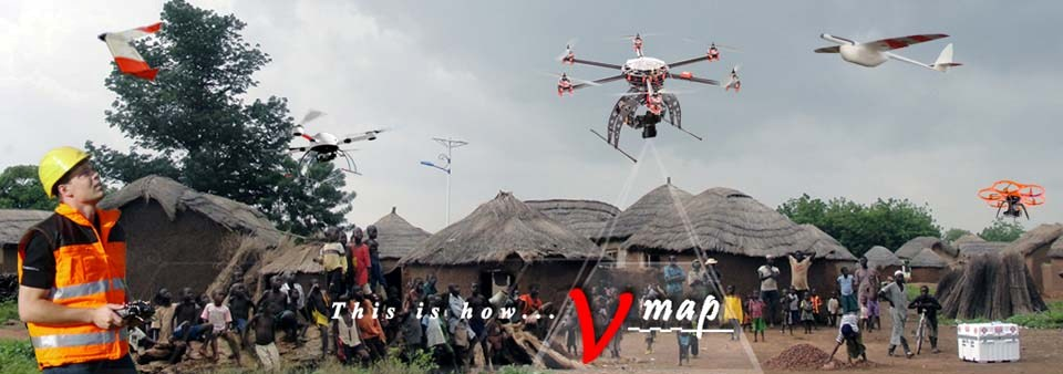 mapping anywhere in the world with Micro Aerial Projects and the  v-map precise aerial mapping system