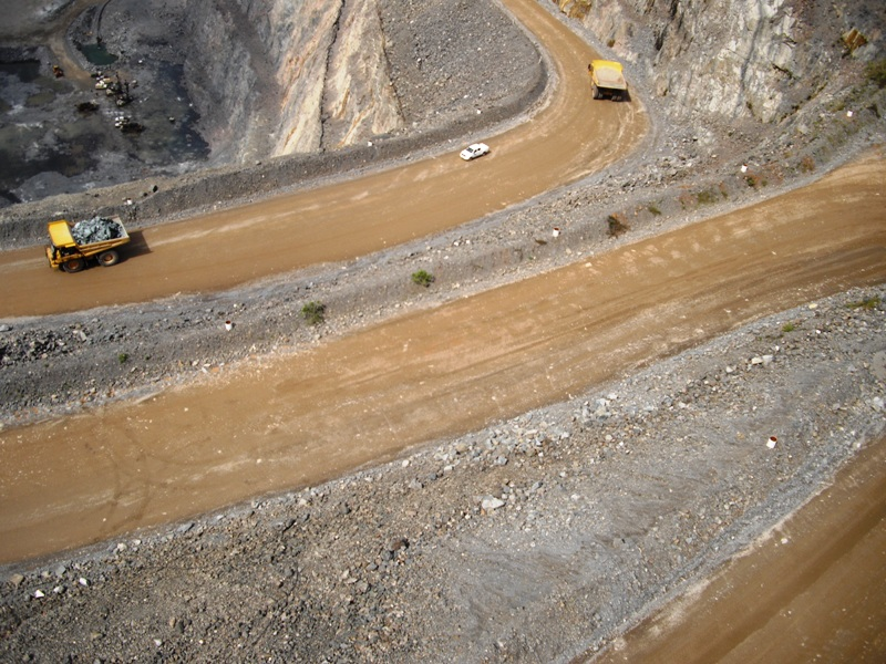 Micro Aerial Projects using a small uav for fleet management at a mine