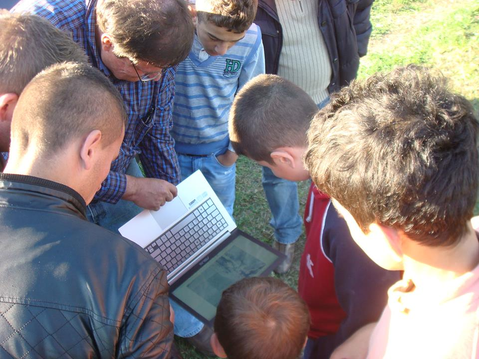 community engagement with Micro Aerial Projects on a World Bank uav mapping project in Albania