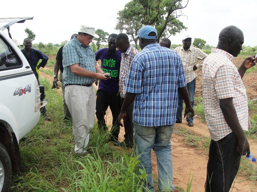 Walter Volkmann surveying and mapping in Africa with uavs and citizen engagement