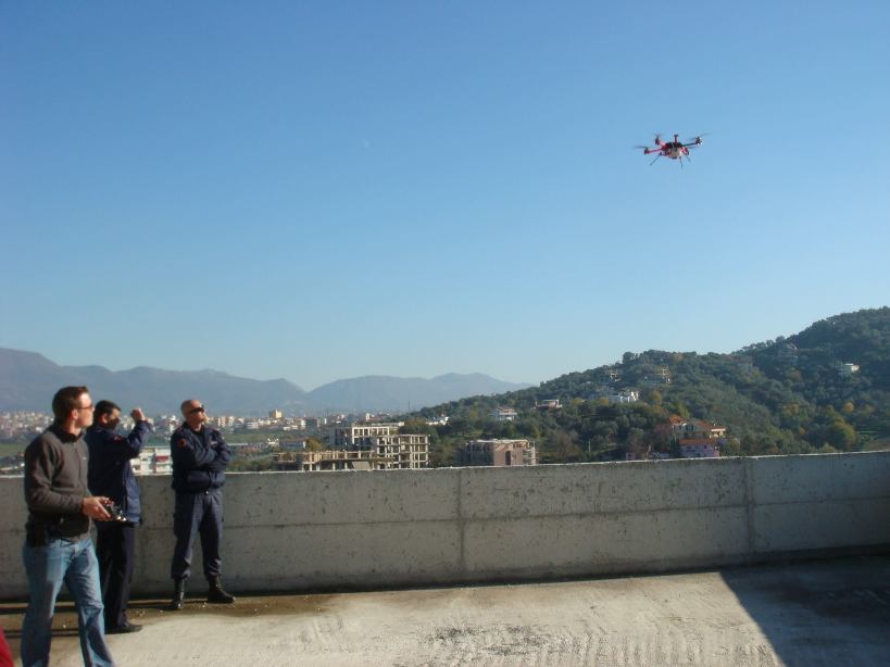 small uav surveying and mapping