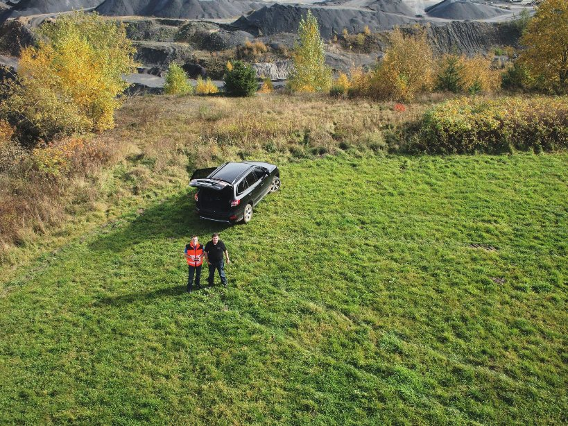 mine mapping with a small uav