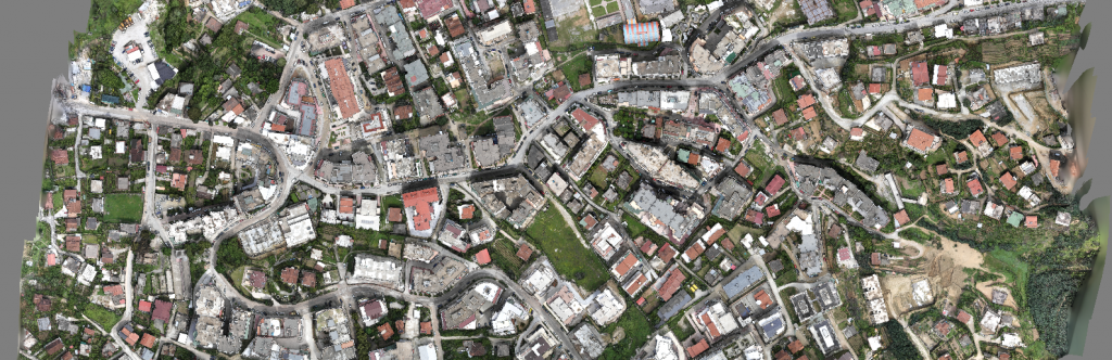 high resolution orthophoto GSD 25mm created by Micro Aerial Projects