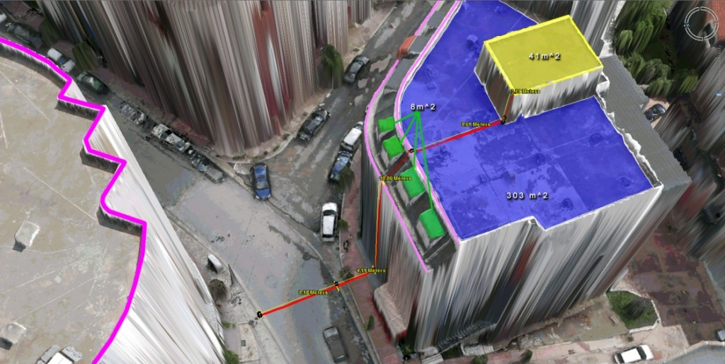 UAV urban models created by Micro Aerial Projects using Virtual Surveyor Tools