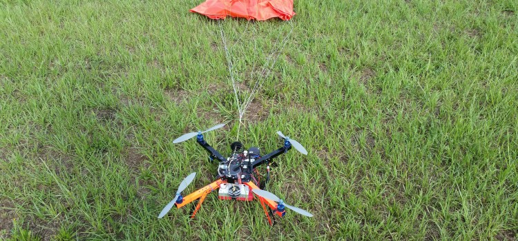 Safety first: using parachutes on our drones