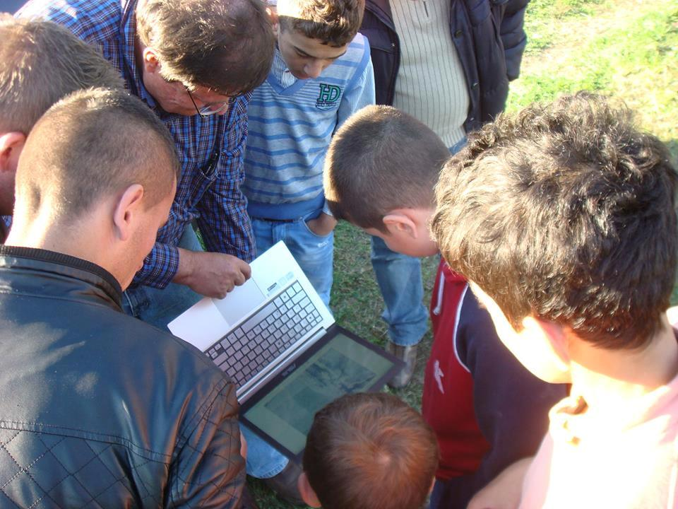 mapping project in Albania using small uavs
