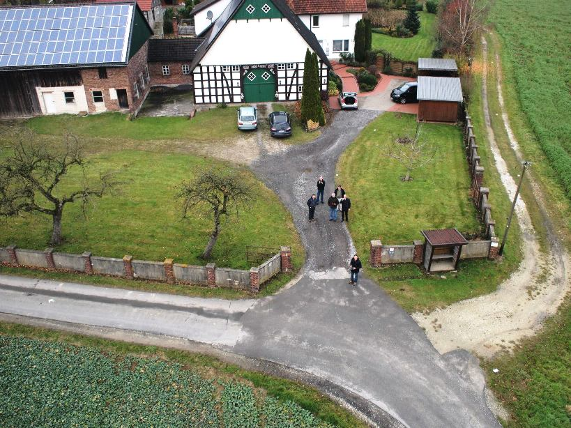 aerial photography in Europe using a small uav