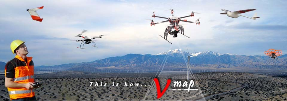 Micro Aerial Projects uses small uavs and the v-map precise aerial mapping system in providing geospatial solutions