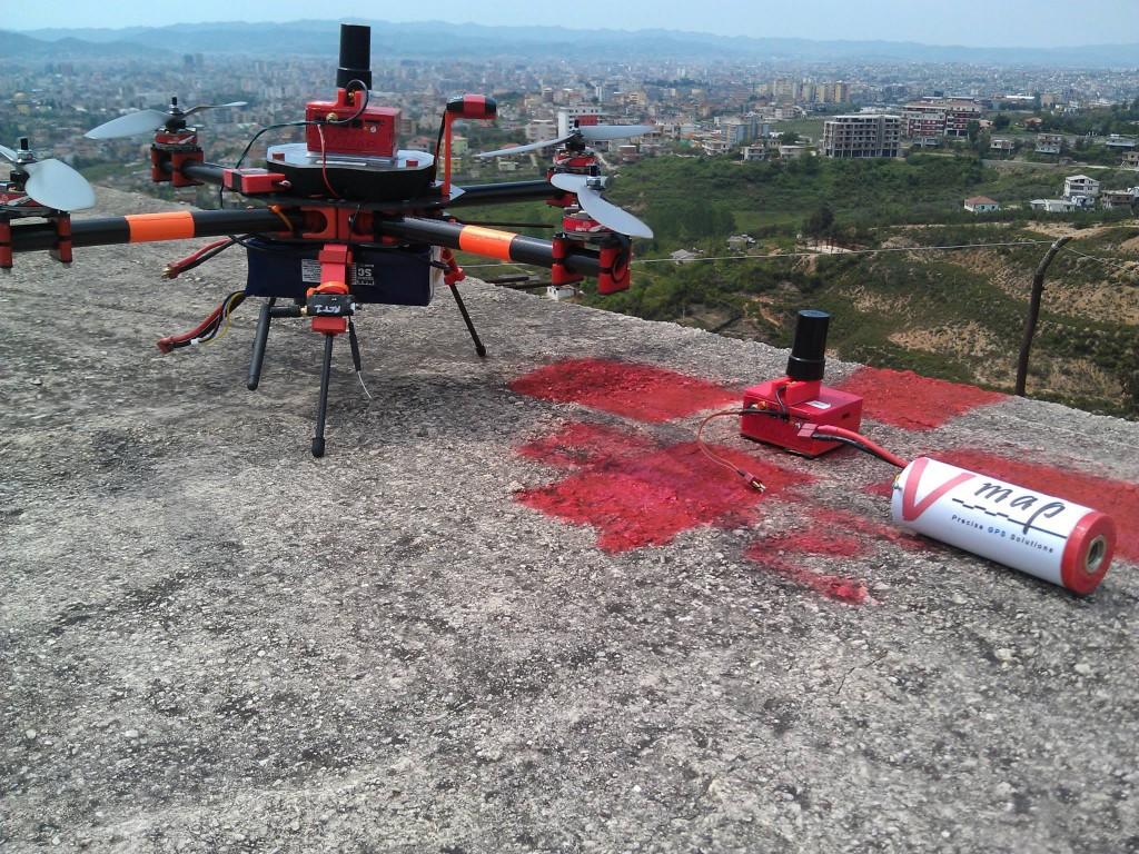 mapping Tirana, Albania using V-map systems