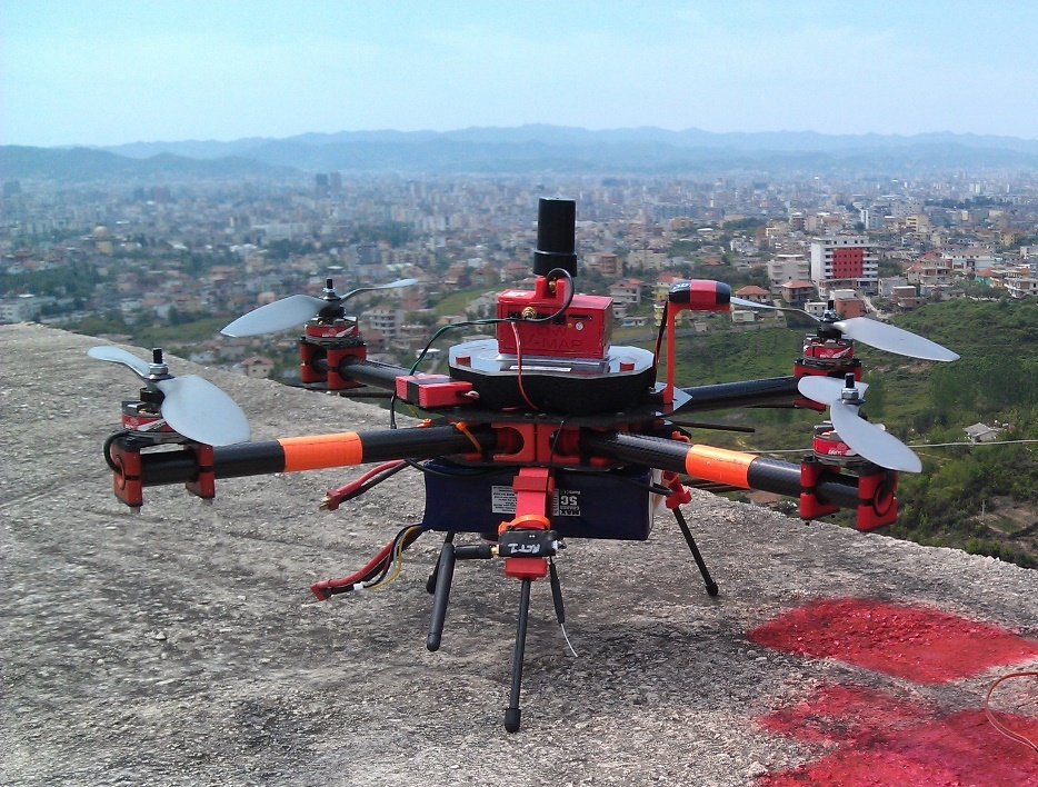 Steadidrone equipped with V-map