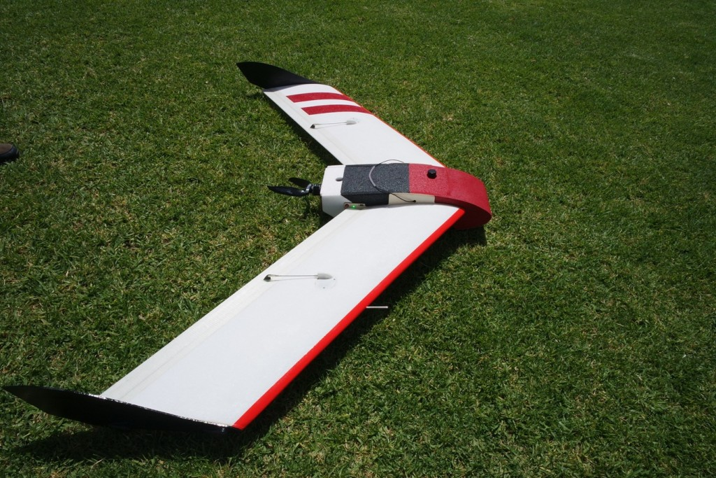V-Map Air on Bateleur Fixed Wing Platform